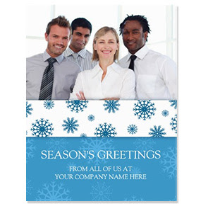Business Photo Holiday Cards