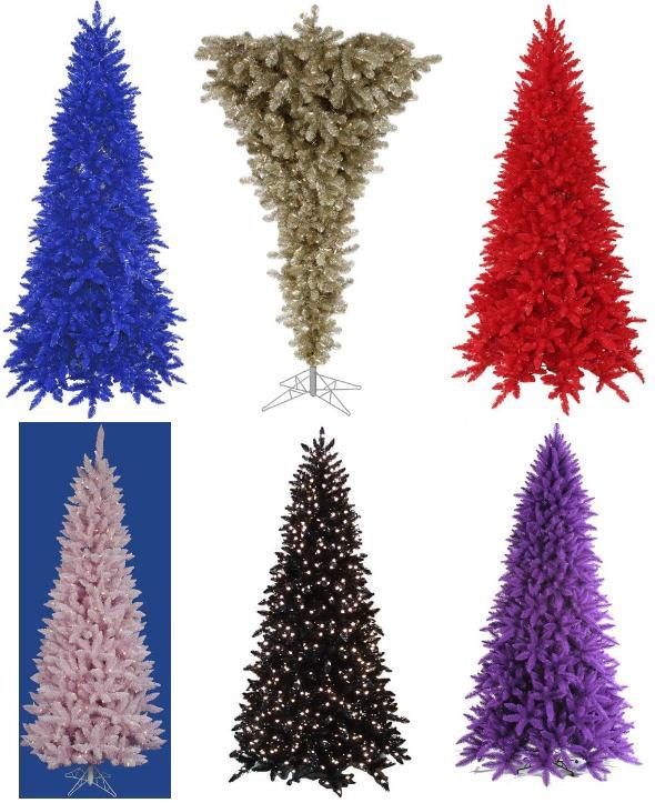 Colorfu Commercial Christmas Trees