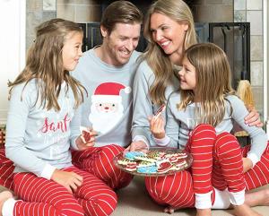 Family Matching Santa Christmas Pajamas