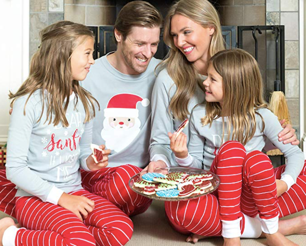 Family Matching Santa Christmas Pajamas