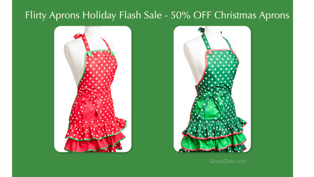 Holiday Apron Flash Sale