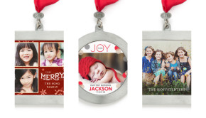 Personalized Holiday Photo Ornaments