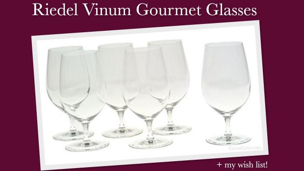 Riedel Vinum Gourmet Glasses