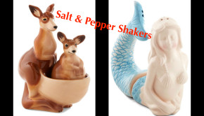 Unique Salt & Pepper Shaker Gifts