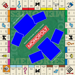 Custom Monopoly Board