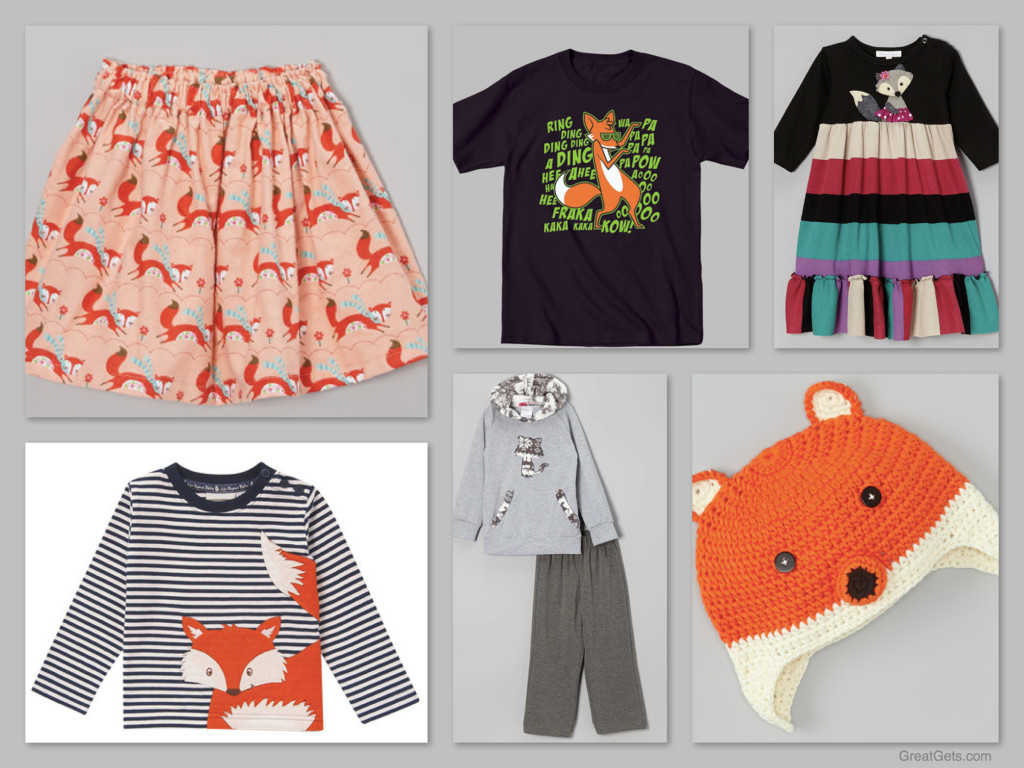 Children's Fox Outfits