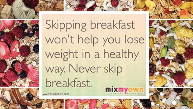MixMyOwn Breakfast Cereal