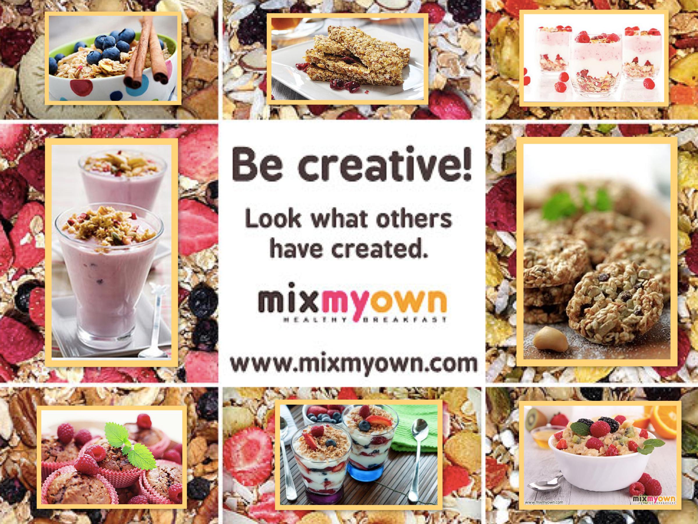 MixMyOwn Healthy Cereal