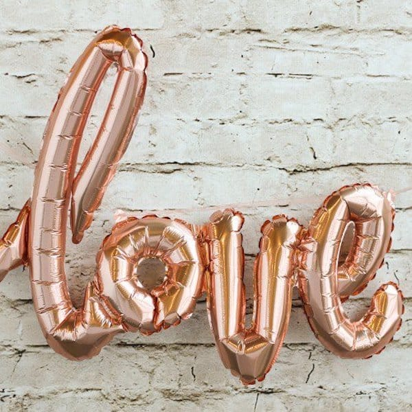 Script Love Balloon