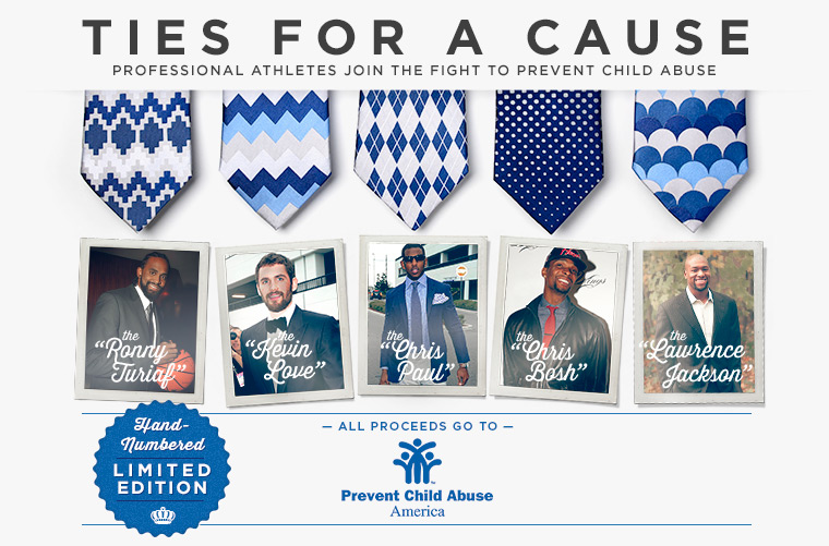 Ties for a Cause - Child Abuse  Prevention