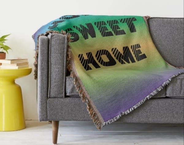Home Sweet Home Throw Blanket