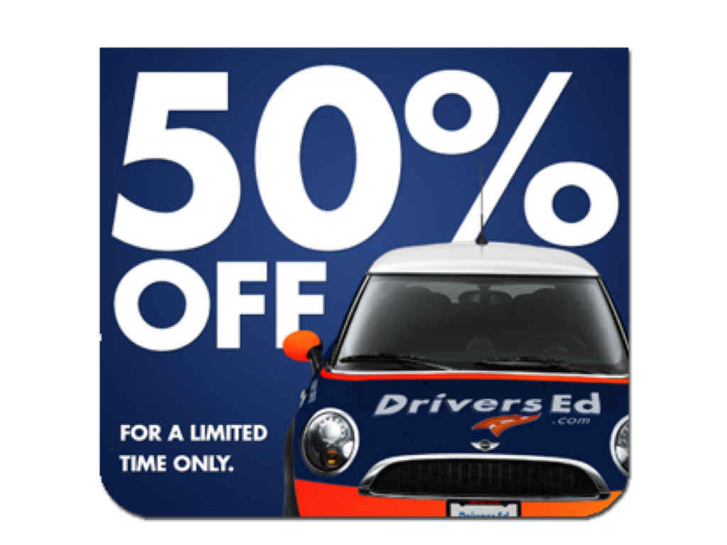 50% OFF Online Drivers Education and Traffic School Courses