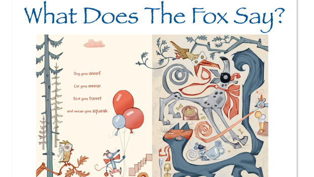 What Does The Fox Say? Children's Picture Book