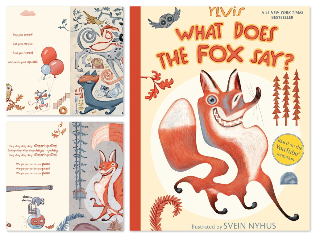 What Does the Fox Say Children's Picture Book