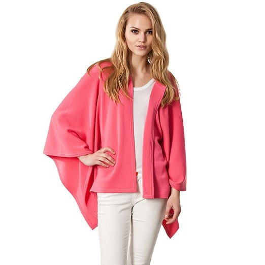 Casual Loose Women's Cotton Cloak Coat Cardigan Jacket