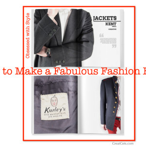 How2 Make Blurb Fashion Book