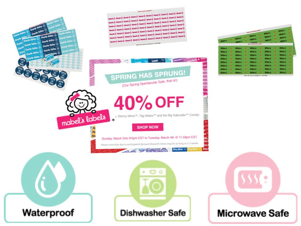 Mabels Labels 40% Off Sale