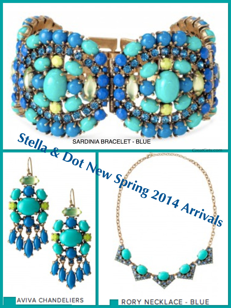 New Spring Summer 2014 Tween Fashion Instagram Love Bc: Stella & Dot New Spring 2014 Arrivals In Beautiful Blue