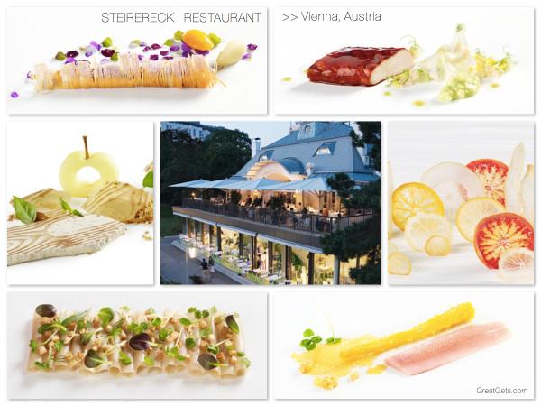 Steirereck Restaurant, Vienna Austria
