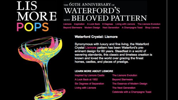 Waterford Lismore 60th Anniversary