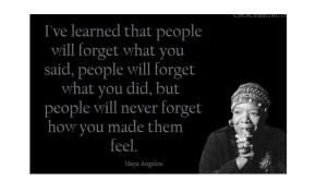 Celebrating the Life of Maya Angelou