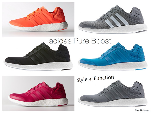 adidas Pure Boost Style + Function