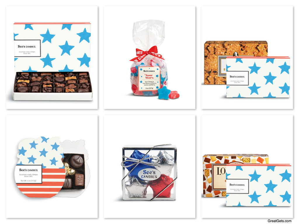 Patriotic Sees Candy - Support our Troops