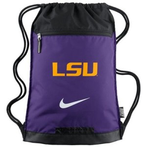 Nike LSU Tigers Training Gym Sack - Purple