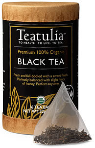 Teatulia Black Tea, Teatulia Loose Leaf Organic Teas, How to Make the Perfect Cup of Tea