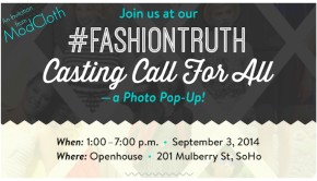 Casting Call ModCloth Photo Pop-Up