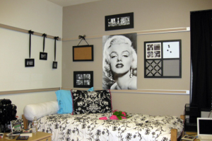Decorating Your Dorm Room - After Photo