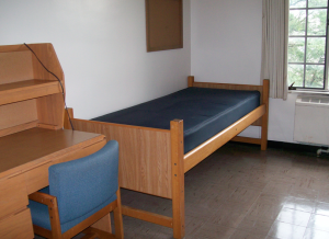 Decorating Your Dorm Room - Before Photo