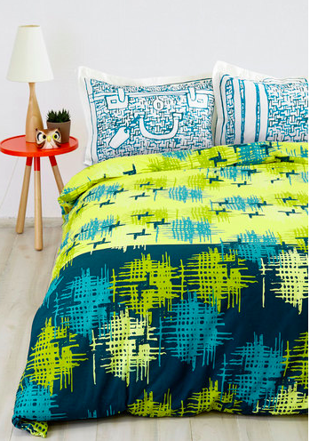 Modern Wing Duvet Cover in Twin, Dorm Room Accessories
