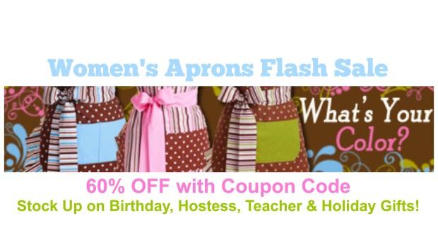 Women's Aprons Flash Sale