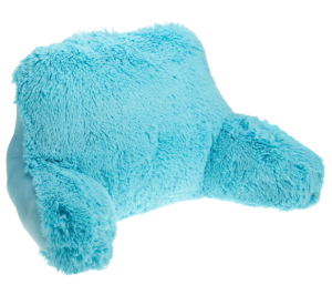 Decorating Your Dorm Room - light blue backrest pillow