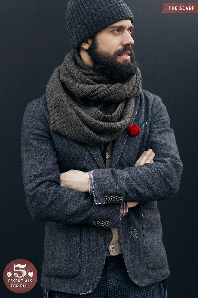 5_essentials_for_fall_mens_scarf