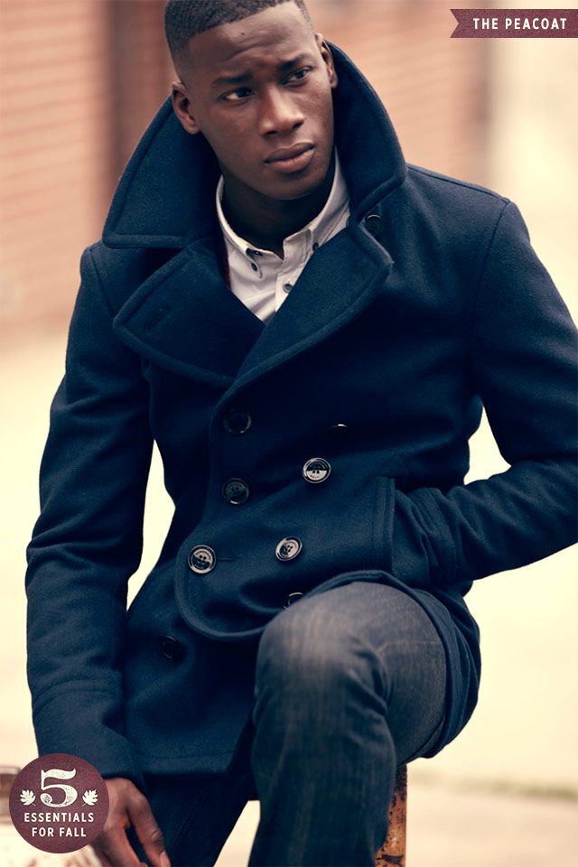 Peacoat, Men's Fall Wardrobe Essentials