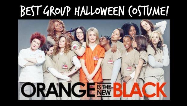 best group halloween costume orange is the new black - Great Group Halloween Costume Ideas