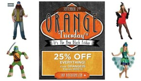 Halloween Costume Flash Sale, BuyCostumes Orange Tuesday Costume Sale