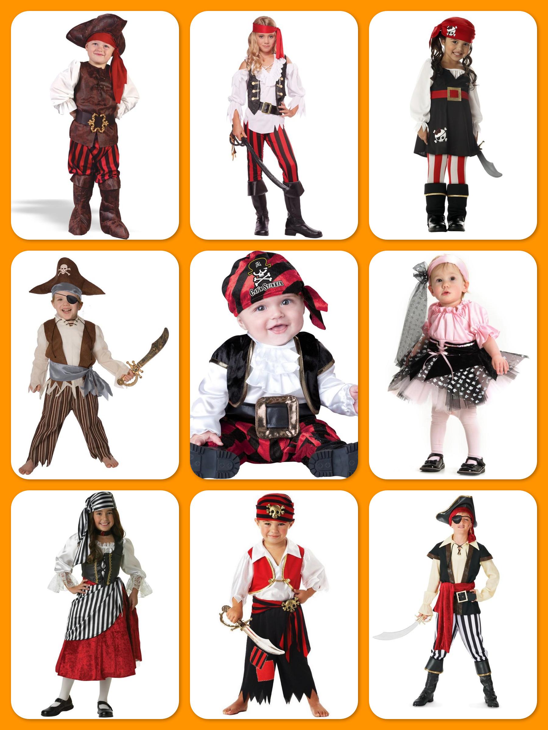 Children's Pirate Costumes, Teach Kids to Dream