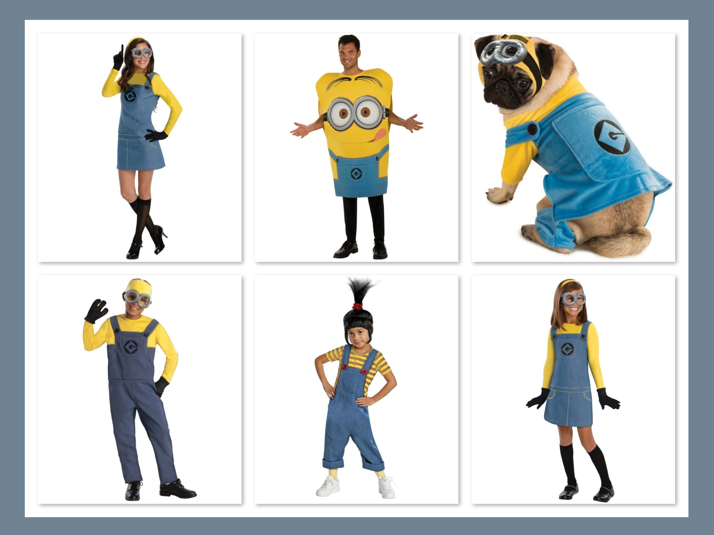 Despicable Me 2 Lady Minion Adult Costume  sc 1 st  GreatGets.com : minion costume for halloween  - Germanpascual.Com