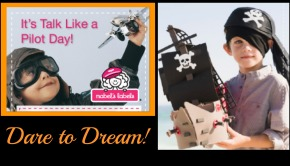 Pilots & Pirates Kids Dare to Dream