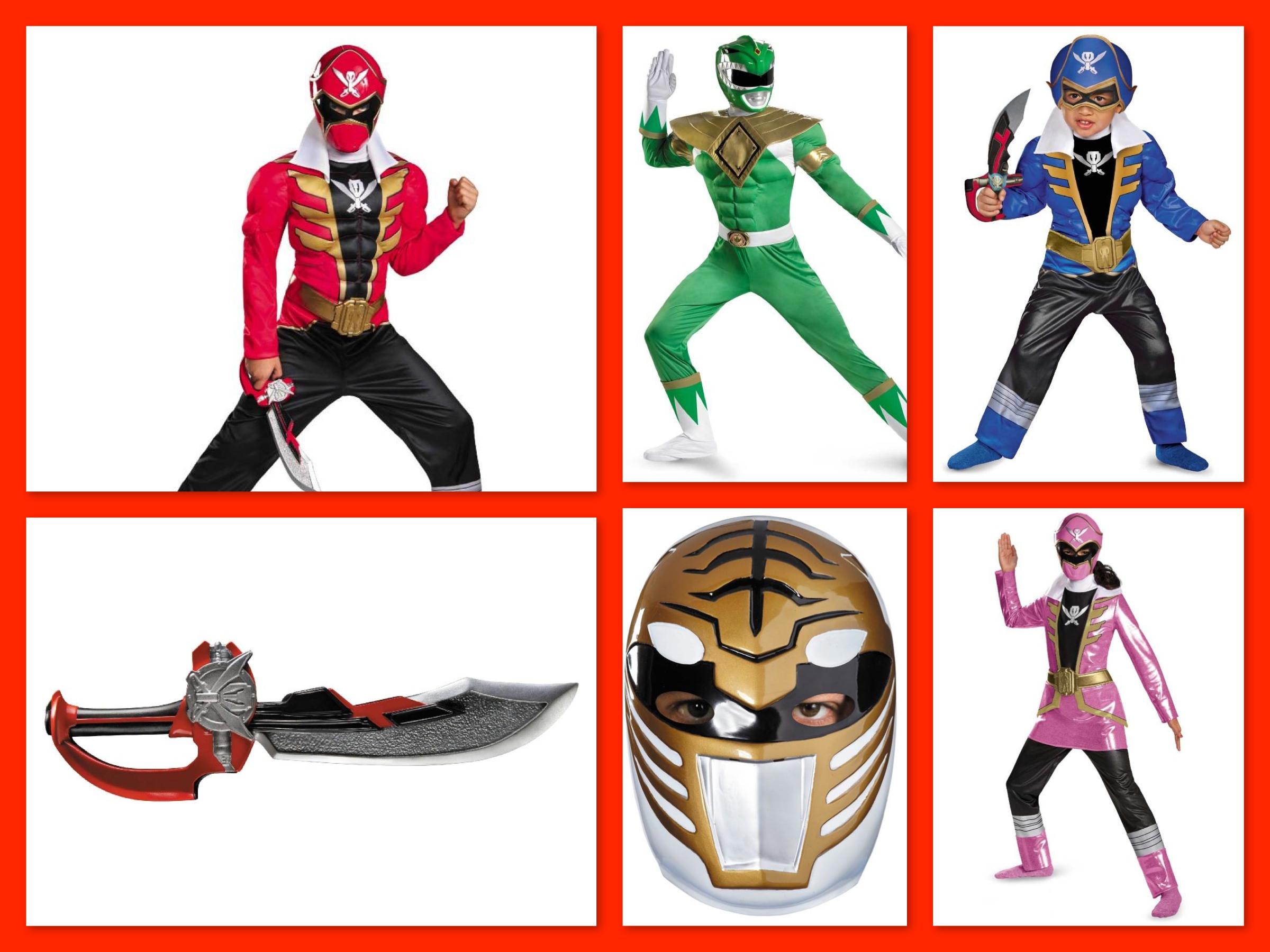 Power Rangers Family Costumes, Trending Halloween Costumes