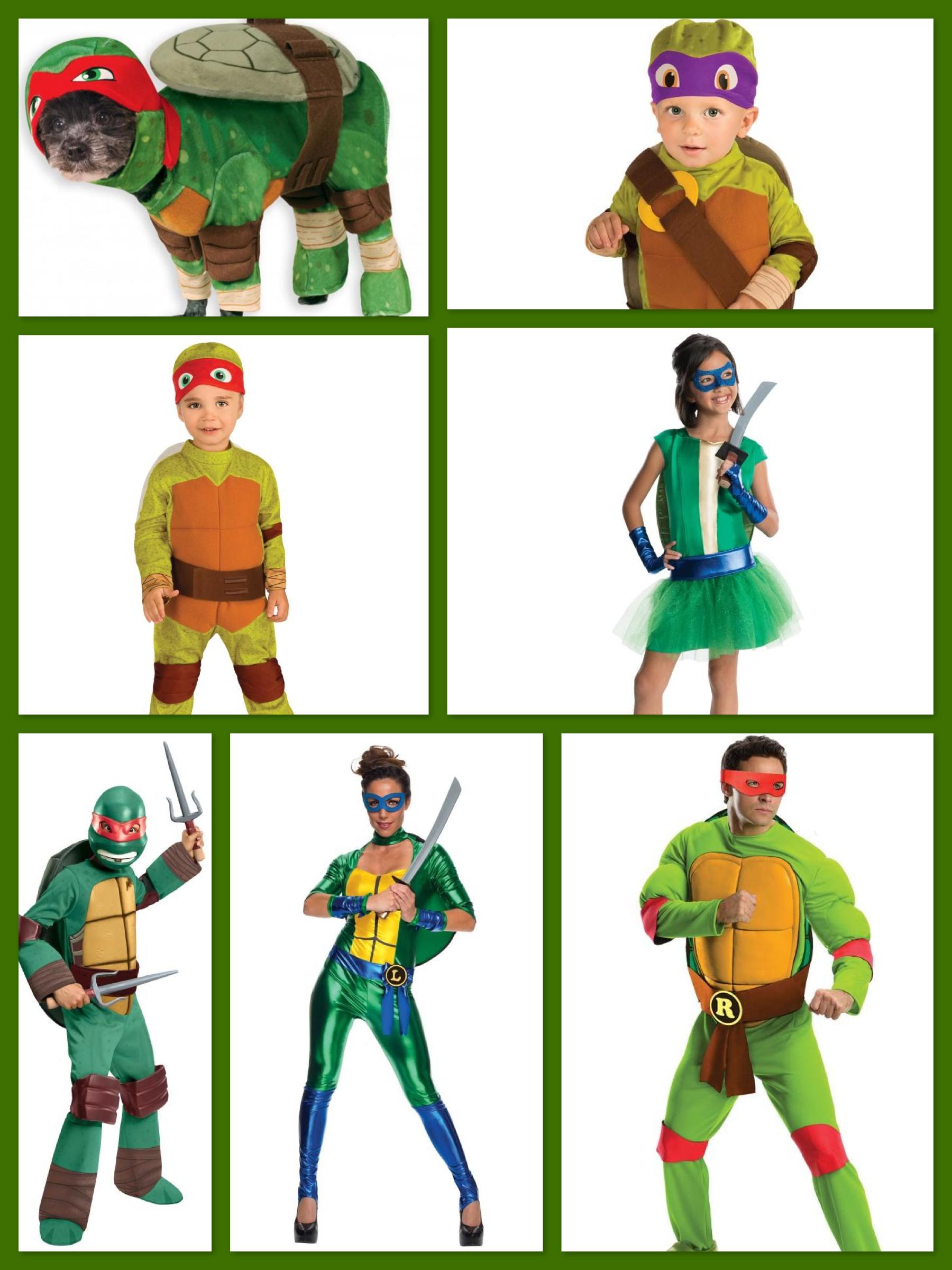 TMNT family costumes