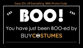 Save 20 OFF Everything at BuyCostumes with Promo Code