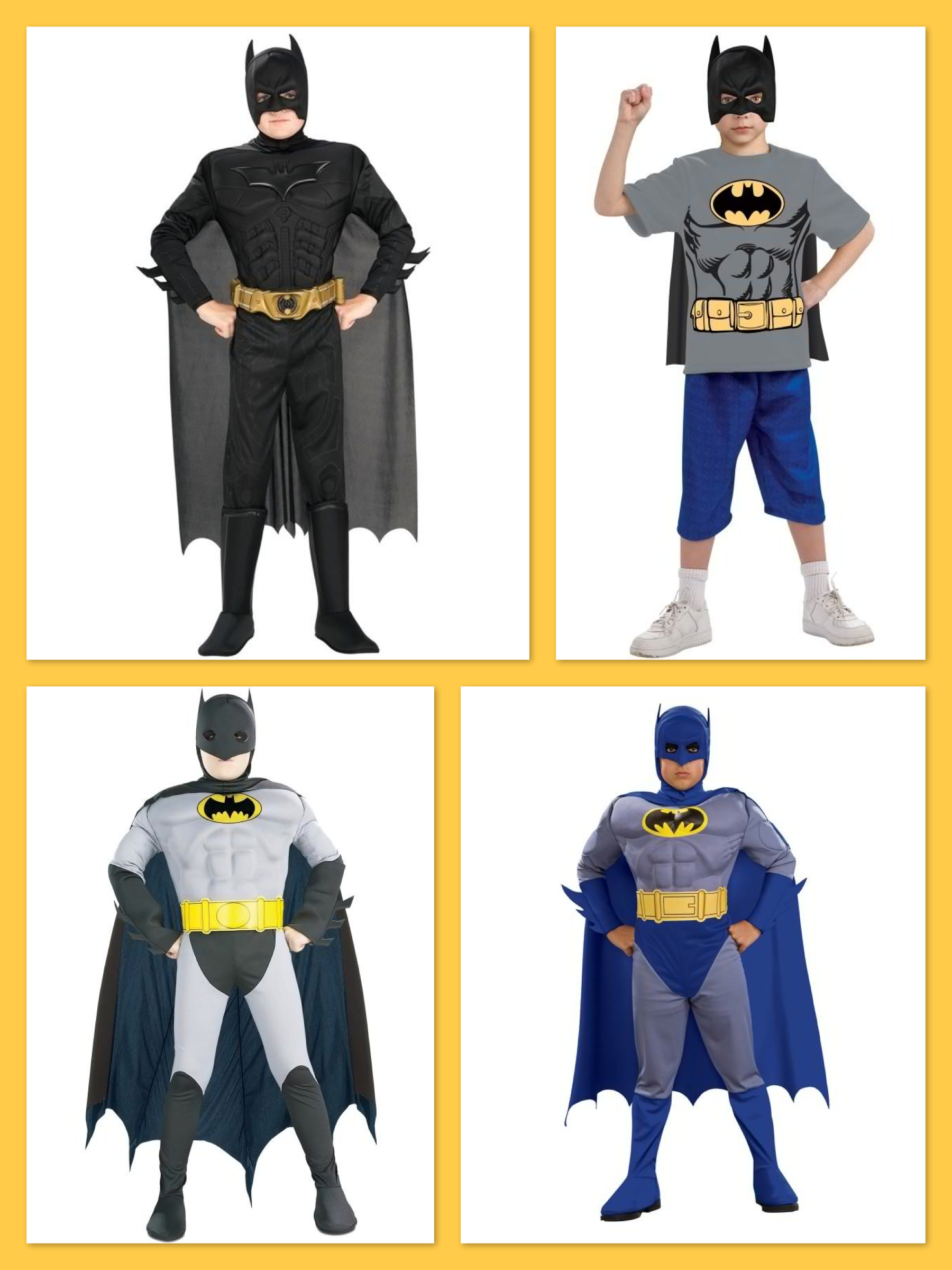 Batman Boys Costumes, Top Trending Halloween Costumes