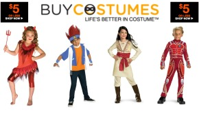 Costumes Priced Under Five Dollars