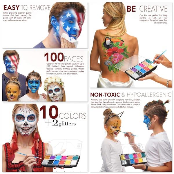 Non Toxic Halloween Face Paint