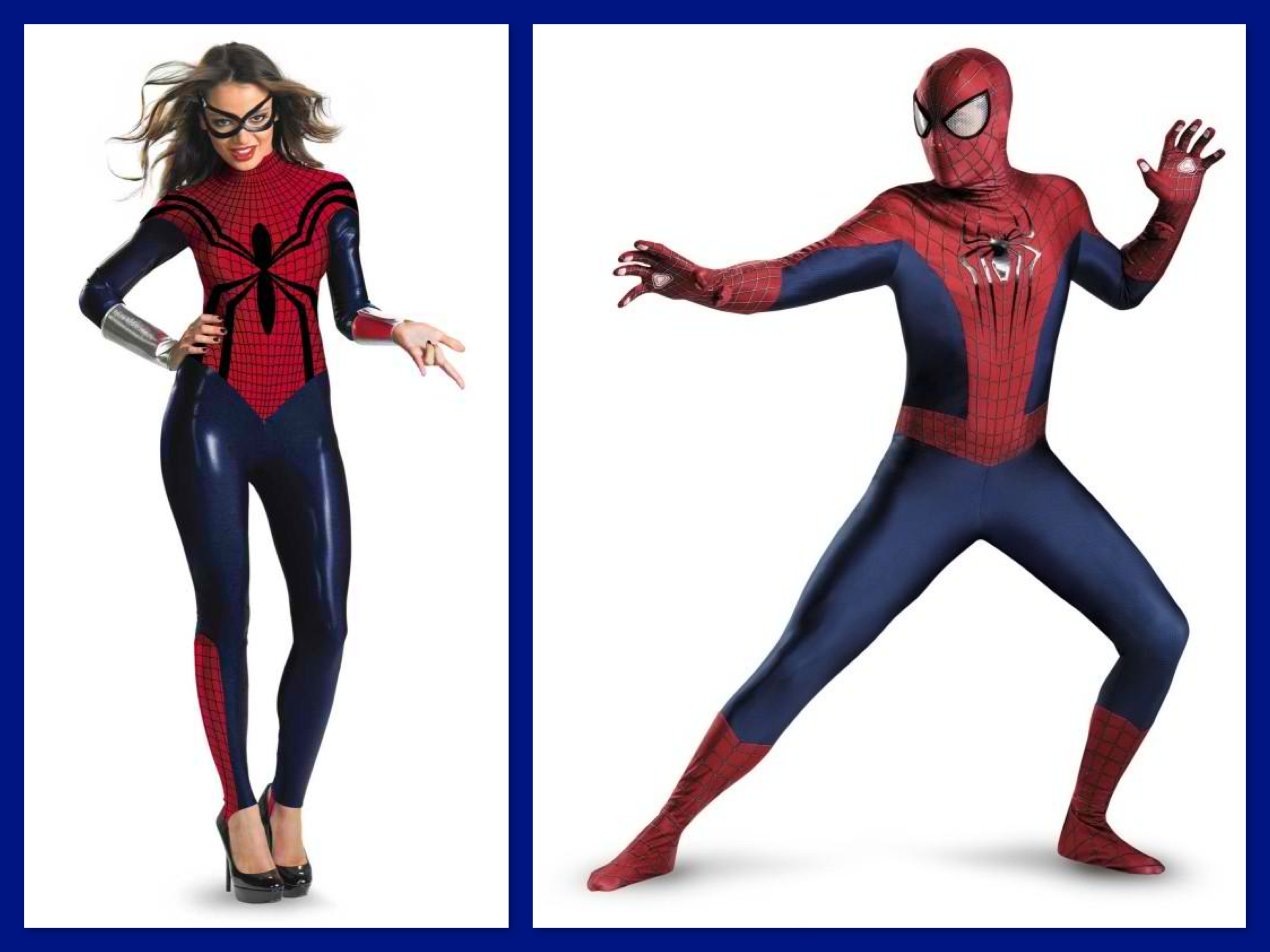 Spider Girl & Spiderman Couples Costumes, Top Trending Halloween Costumes