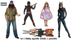 Top 5 Trending Halloween Costumes and Accessories